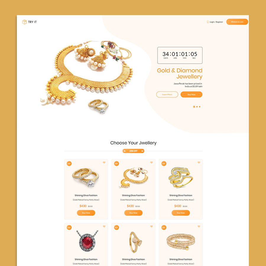 Tryit - Product Offer Landing Page HTML Template - 9