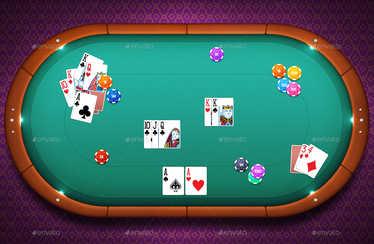 Poker Tables By V9 Game Graphicriver