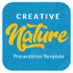 Nature Creative Google Slide - GraphicRiver Item for Sale