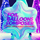 Foil Balloons Composer - VideoHive Item for Sale