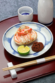 Seko gani, steamed female snow crab meat and egg stuffed on crab shell, Japanese food - PhotoDune Item for Sale
