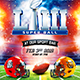 American Football Super Ball Flyer vol.9 - GraphicRiver Item for Sale