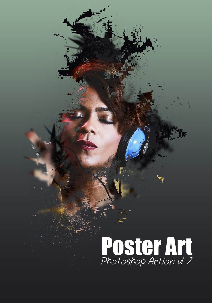 Poster Art Photoshop Action