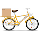 Delivery Bicycle - GraphicRiver Item for Sale
