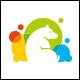 Color Bear Logo Template - GraphicRiver Item for Sale