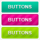 10 Web 2.0 Buttons. Psd + Html - GraphicRiver Item for Sale