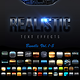 Realistic Text Effects Bundle I - GraphicRiver Item for Sale