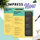 Minimalist CV - GraphicRiver Item for Sale