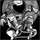 Astronaut Skateboard T-Shirt Design - GraphicRiver Item for Sale