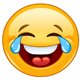 Emoji with Tears of Joy - GraphicRiver Item for Sale