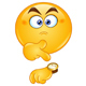 Pointing at Watch Emoji - GraphicRiver Item for Sale