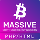 Massive Cryptocurrency Widgets - PHP/HTML Edition - CodeCanyon Item for Sale