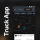 Truck Tracking App + Driver App UI Kit | 23 + 15 Screens - GraphicRiver Item for Sale
