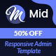 Mid - Creative Dashboard Template - ThemeForest Item for Sale