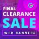 Product Sale Web Banner Set - GraphicRiver Item for Sale