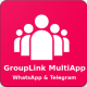 GroupLink MultiApp - WhatsApp & Telegram - Android native App - CodeCanyon Item for Sale