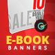 Ebook Web Banner Set - GraphicRiver Item for Sale