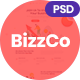 BizzCo - Creative Agency PSD Template - ThemeForest Item for Sale