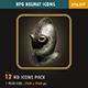 RPG Helmet Icons
