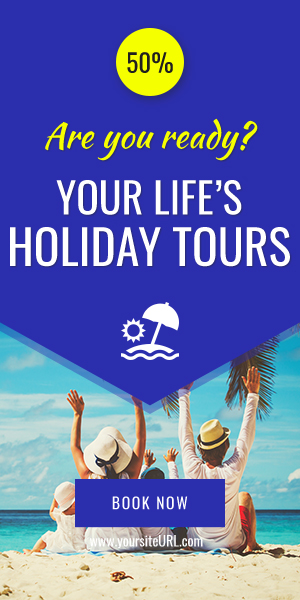 Travel Agency Banners Ad D33 - Google Web Design
