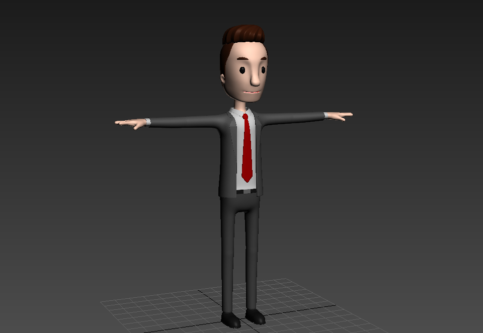 CartoonMan011 Businessman