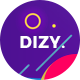 Dizy Portfolio - Creative Portfolio Theme - ThemeForest Item for Sale