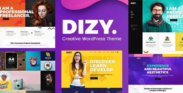 Dizy Portfolio - Creative Portfolio Theme - Creative WordPress
