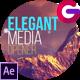 Elegant Media Opener - VideoHive Item for Sale