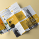 Minimal Trifold Brochure - GraphicRiver Item for Sale