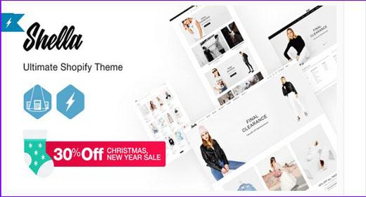 Shella - Ultimate Fashion Responsive Shopify theme