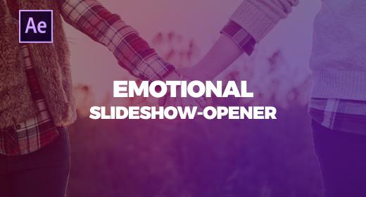 EMOTIONAL SLIDESHOW-OPENER I AE