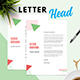 Minimalist Letterhead - GraphicRiver Item for Sale