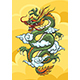 Chinese Dragon Colorful Illustration - GraphicRiver Item for Sale