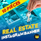 Real Estate Instagram Banner - GraphicRiver Item for Sale
