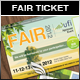 Green & Eco Fair Ticket - GraphicRiver Item for Sale