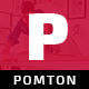 POMTON - Onepage Creative HTML5 Template. - ThemeForest Item for Sale