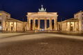 The famous illuminated Brandenburger Tor in Berlin  - PhotoDune Item for Sale