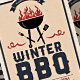 Holiday/Winter BBQ - GraphicRiver Item for Sale