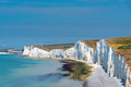 The white chalk cliffs in England - PhotoDune Item for Sale