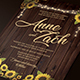 Sunflower Wedding Invitation - GraphicRiver Item for Sale