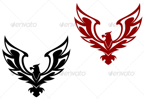 Eagle symbol - Decorative Vectors