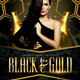 Black and Gold Flyer - GraphicRiver Item for Sale