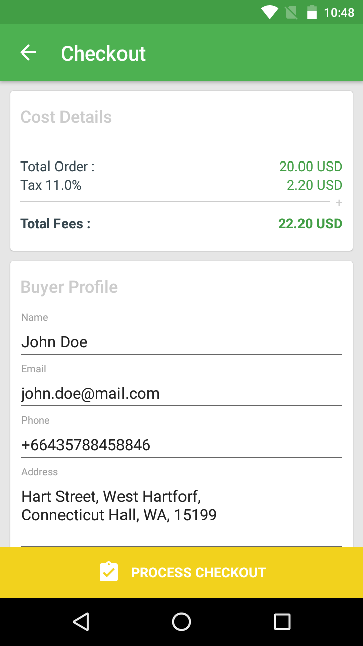 Markeet - Android Online Store 2 3
