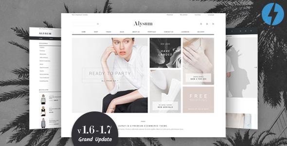 Alysum - Premium Prestashop AMP Theme