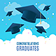 Congratulation Graduates Placard Banner Card - GraphicRiver Item for Sale