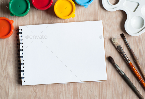drawing tools on a desk - Stock Photo - Images