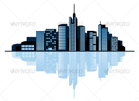 Modern Cityscape - Buildings Objects