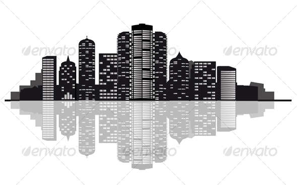 Modern City - Business Conceptual