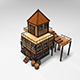 Medieval Tavern Low Poly - 3DOcean Item for Sale