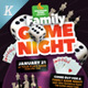 Game Night Flyer Template - GraphicRiver Item for Sale